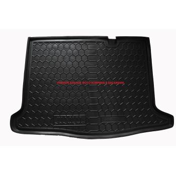 Коврик в багажник для Chery Arrizo 3 2016-, полиуретановый (AVTO-Gumm)