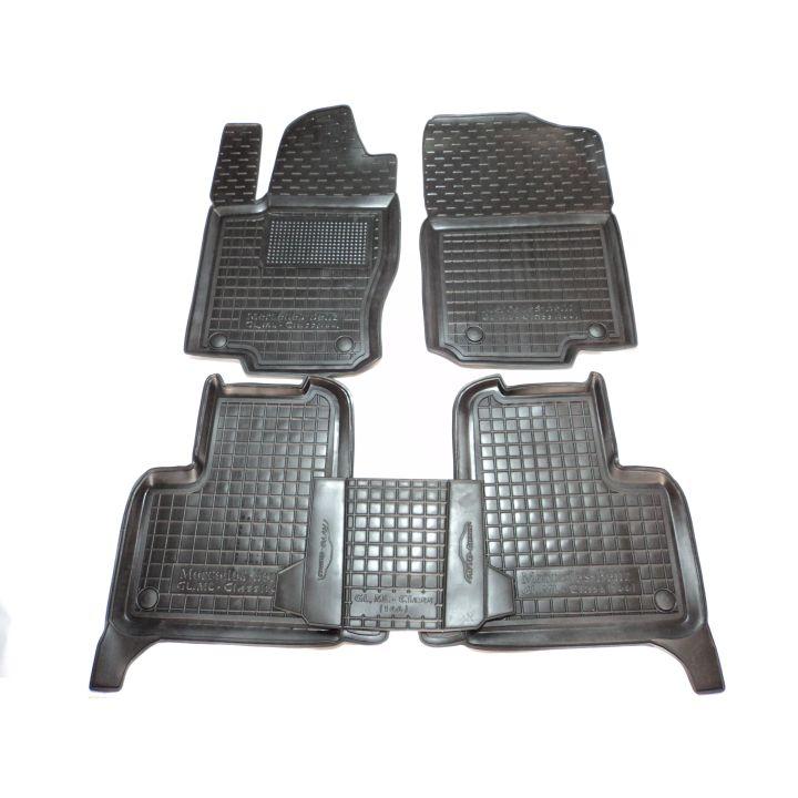 Коврики в салон для Mercedes GL-X166/GLS '12-19 (7мест), резиновые (AVTO-Gumm)