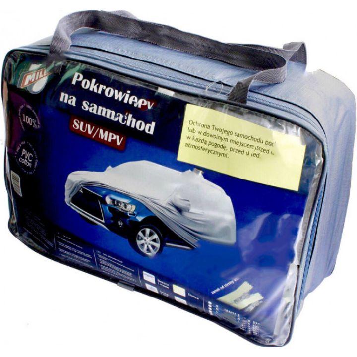 """Тент автомобильный для джипа """"M"""" 4,33см-1,85см-1,45см Milex PEVA+PP Cotton"""