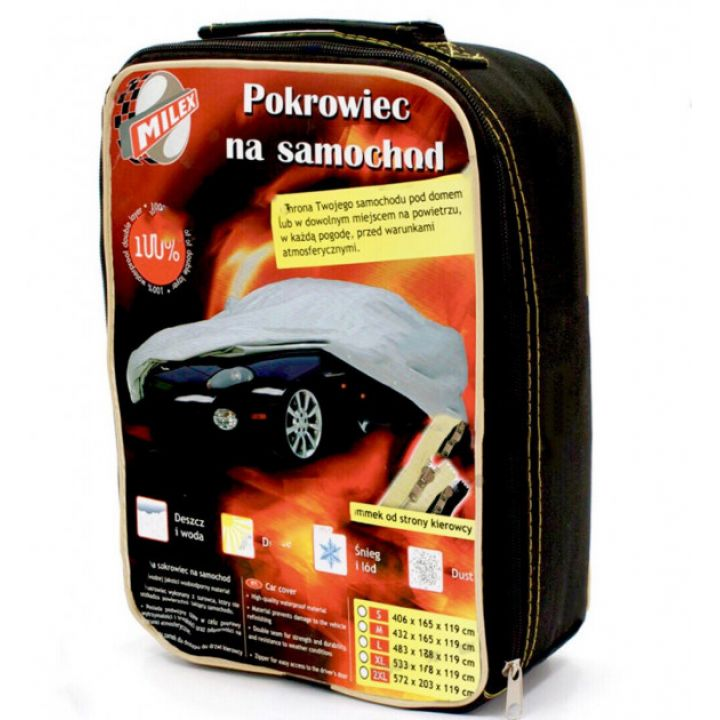 "Тент для автомобиля седан ""XL"" 5,33см-1,78см-1,20см Polyester"