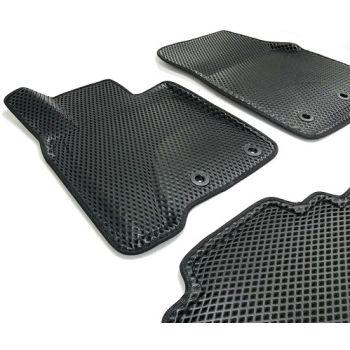 Коврики в салон 3d EVA для Lexus LX 570 '12-, черные (Seintex)