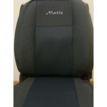Авточехлы для салона Daewoo Matiz '01- (Элегант)
