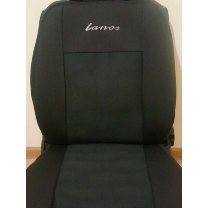 Авточехлы для салона Daewoo Lanos '98- (Задние сиденья с подголовниками)