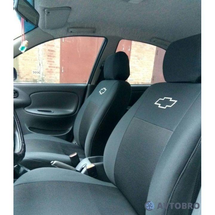 Авточехлы для салона Chevrolet Captiva '06- (Элегант)