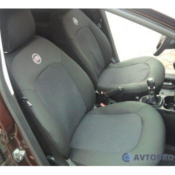 Авточехлы для салона Fiat Doblo '01-09 (1+1) (Элегант)