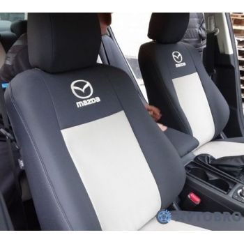 Авточехлы для салона Mazda 3 '04-09 (Элегант)
