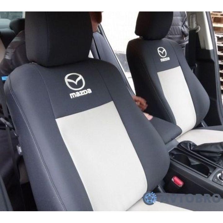 Авточехлы для салона Mazda CX-5 '12-17 (Элегант)