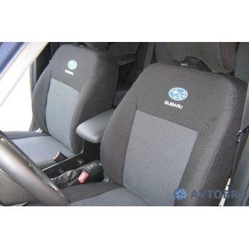 Авточехлы для салона Subaru Forester '03-08 (Элегант)