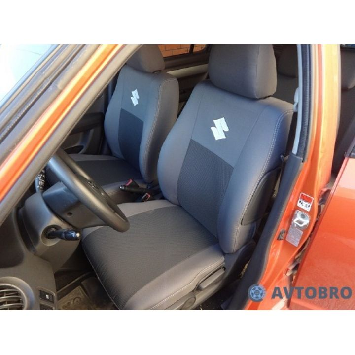 Авточехлы для салона Suzuki SX-4 '06-14, хетчбек (Элегант)