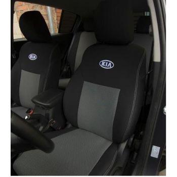 Авточехлы для салона Kia Carens '07-12, 5 мест (Элегант)