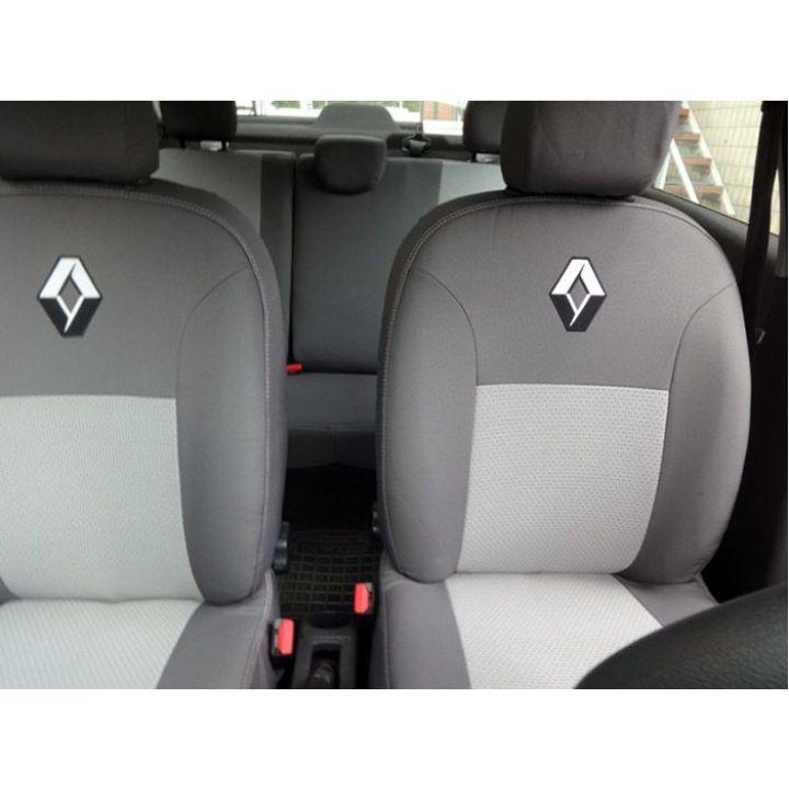 Авточехлы для салона Renault Duster '13- Expressing с раздельной спинкой (Элегант)