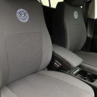 Авточехлы для салона Volkswagen Transporter T5 '03-15 10 мест (Элегант)