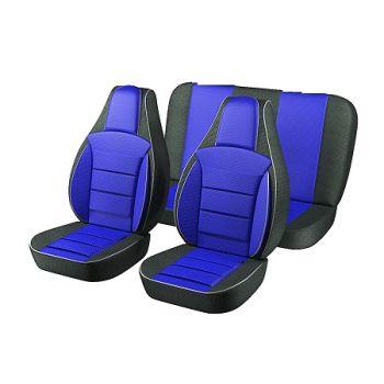 Авточехлы для салона Lada (Ваз) 2101-2107 '81-12, синий (Пилот)