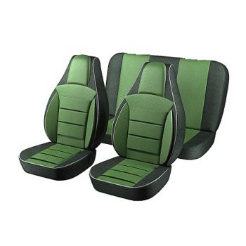 Универсальные чехлы на сиденья Зеленые, (Пилот)
