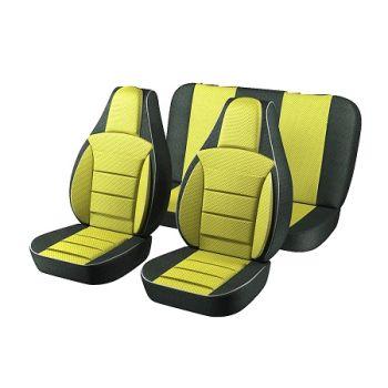 Универсальные чехлы на сиденья Желтые, (Пилот)
