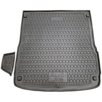 Коврик в багажник для Audi A6 (C6) '05-10 универсал, полиуретановый (AVTO-Gumm)