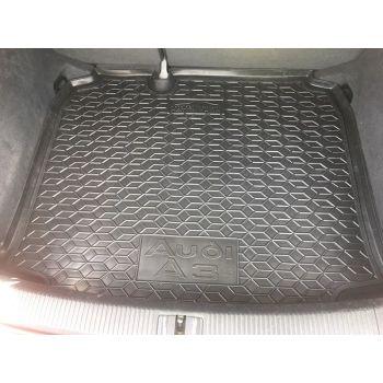 Коврик в багажник для Audi A3 2003- хетчбэк, полиуретановый (AVTO-Gumm)