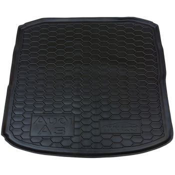 Коврик в багажник для Audi A3 седан 2012-, полиуретановый (AVTO-Gumm)