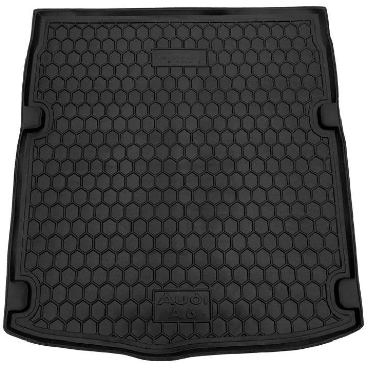 Коврик в багажник для Audi A6 (C7) 2014- седан, полиуретановый (AVTO-Gumm)