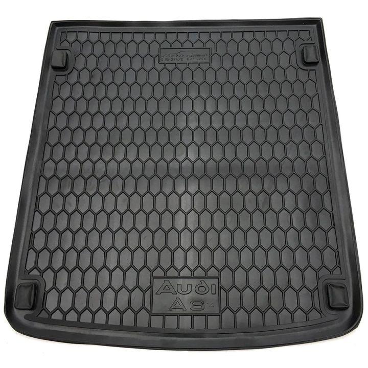 Коврик в багажник для Audi A6 (C7) 2014- универсал, полиуретановый (AVTO-Gumm)