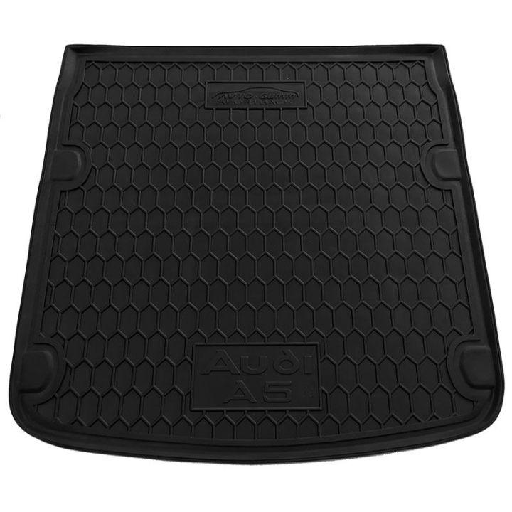Коврик в багажник для Audi A7 (G4) Sportback 2010-, полиуретановый (AVTO-Gumm)