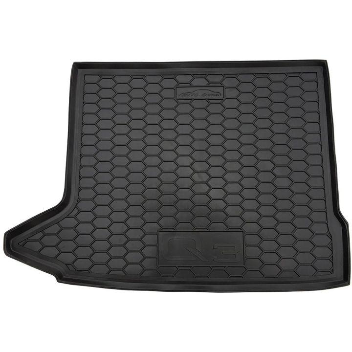 Коврик в багажник для Audi Q3 2011-, полиуретановый (AVTO-Gumm)