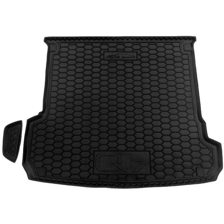 Коврик в багажник для Audi Q7 2015-, полиуретановый (AVTO-Gumm)