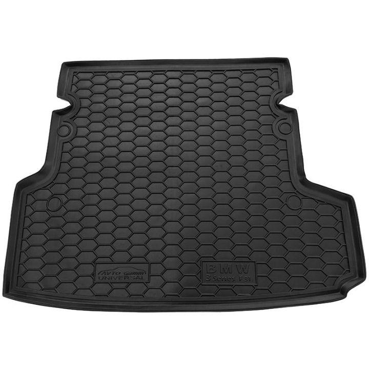 Коврик в багажник для BMW F31 3-серия 2012- универсал, полиуретановый (AVTO-Gumm)