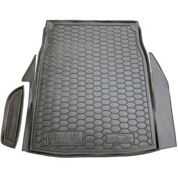 Коврик в багажник для BMW E60 5-серия 2003-2010 седан, полиуретановый (AVTO-Gumm)