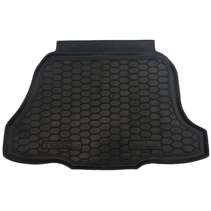 Коврик в багажник для Chery Tiggo 2 2017-, полиуретановый (AVTO-Gumm)
