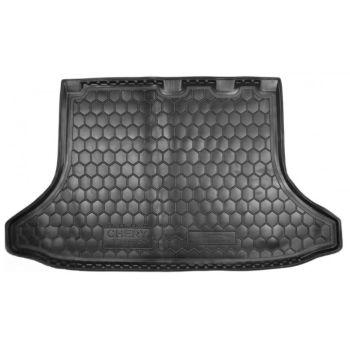 Коврик в багажник для Chery Tiggo 2013-, полиуретановый (AVTO-Gumm)