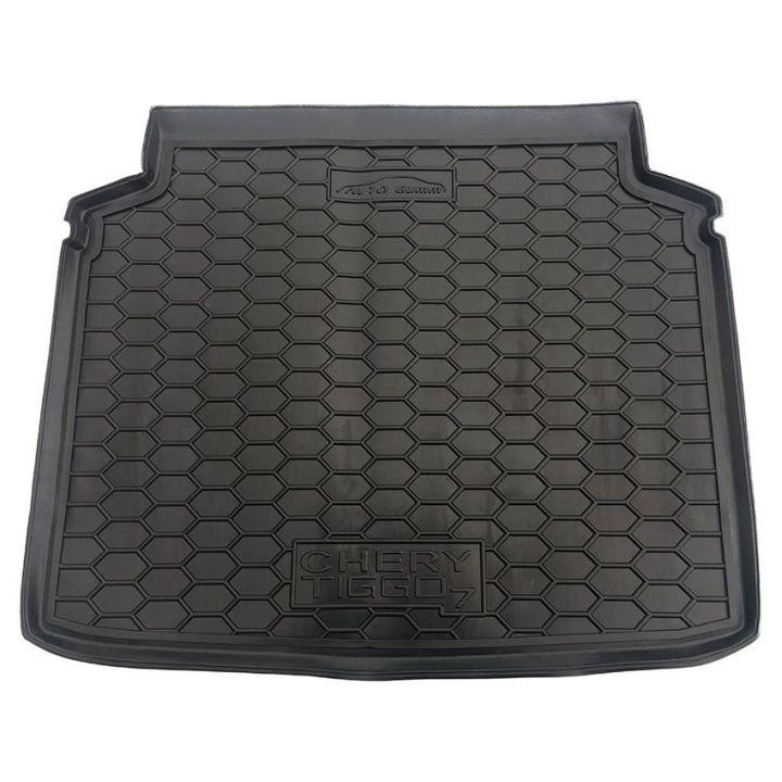 Коврик в багажник для Chery Tiggo 7 2017-, полиуретановый (AVTO-Gumm)
