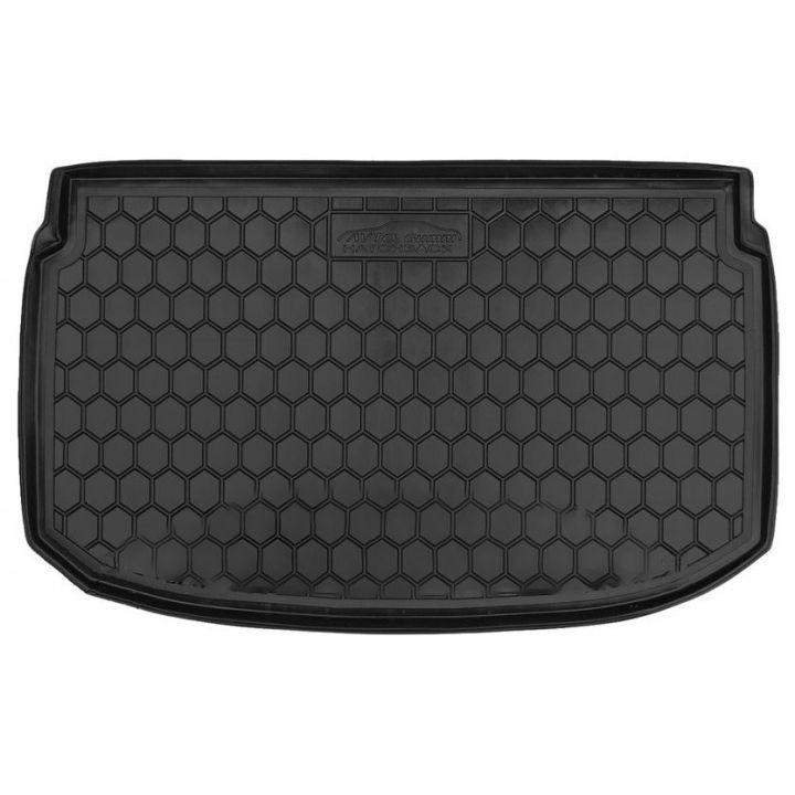Коврик в багажник для Chevrolet Aveo 2012- хетчбэк, полиуретановый (AVTO-Gumm)