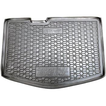 Коврик в багажник для Chevrolet Bolt '16- (нижняя полка), полиуретановый (AVTO-Gumm)
