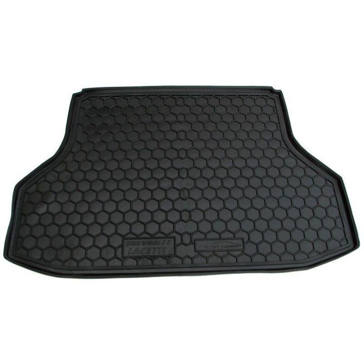 Коврик в багажник для Chevrolet Lacetti '03-12 седан, полиуретановый (AVTO-Gumm)
