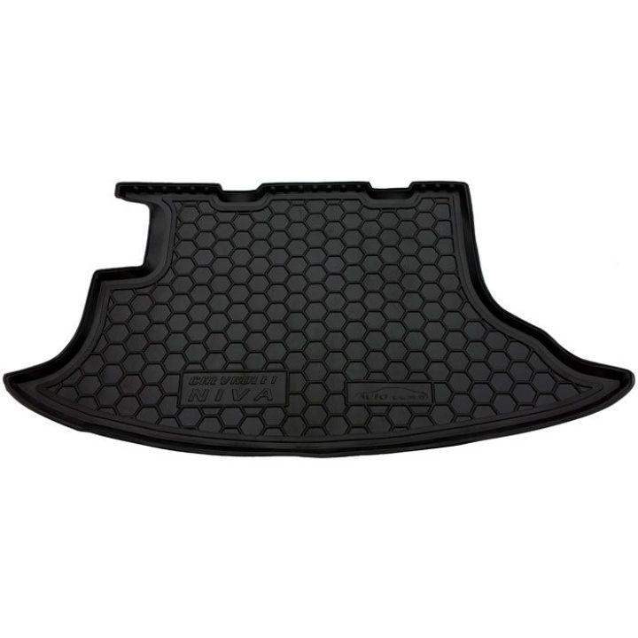 Коврик в багажник для Chevrolet Niva '02-, полиуретановый (AVTO-Gumm)