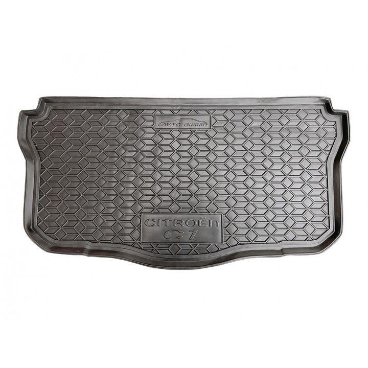 Коврик в багажник для Citroen C-1 II 2014-, полиуретановый (AVTO-Gumm)