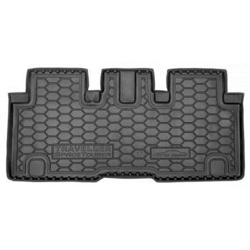Коврик в багажник для Citroen Spacetourer '16-, (VIP) L2, полиуретановый (AVTO-Gumm)