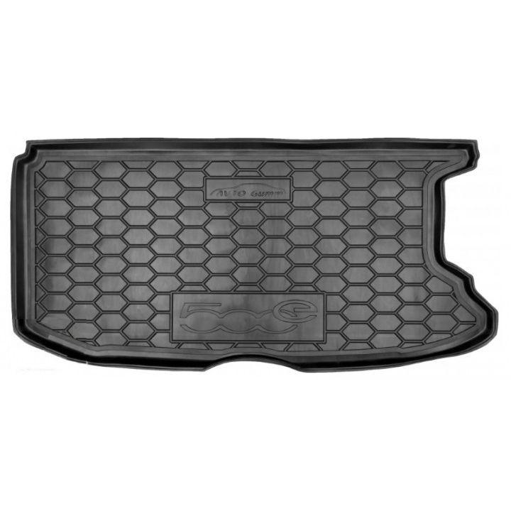 Коврик в багажник для Fiat 500e, полиуретановый (AVTO-Gumm)