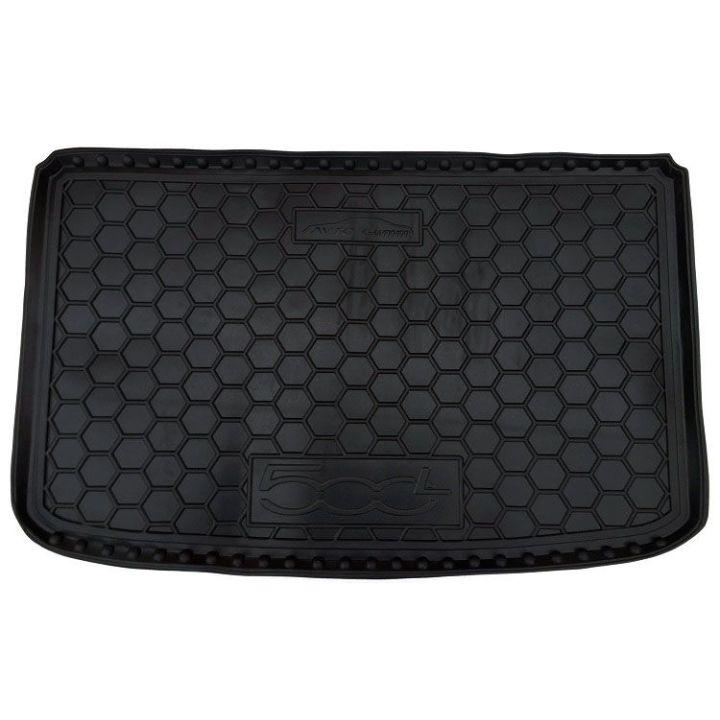 Коврик в багажник для Fiat 500L '13-, полиуретановый (AVTO-Gumm)