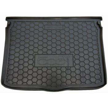 Коврик в багажник для Fiat 500X '14-, полиуретановый (AVTO-Gumm)