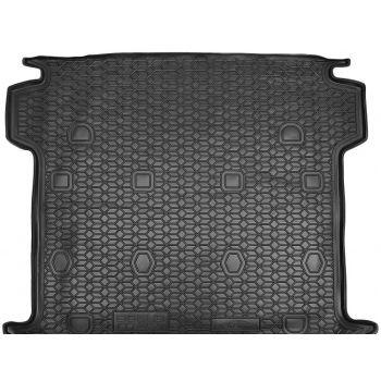 Коврик в багажник для Fiat Doblo '10-, 5/7 мест, длинная база, полиуретановый (AVTO-Gumm)