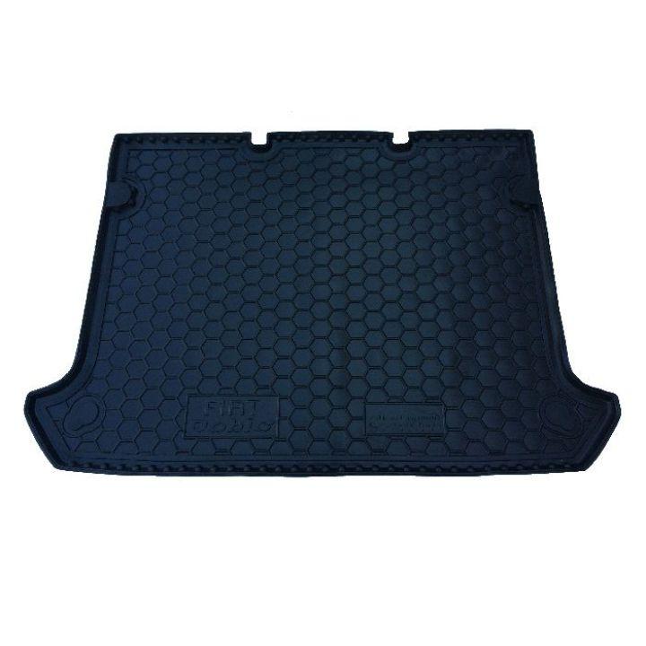 Коврик в багажник для Fiat Doblo 2001-, корот. база без сетки, полиуретановый (AVTO-Gumm)