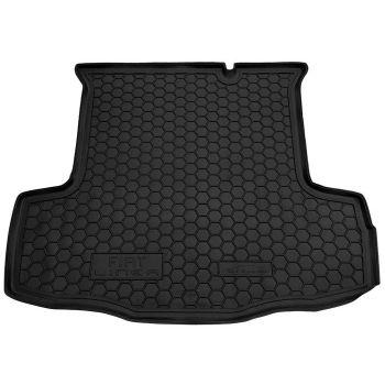 Коврик в багажник для Fiat Linea '07-15, полиуретановый (AVTO-Gumm)