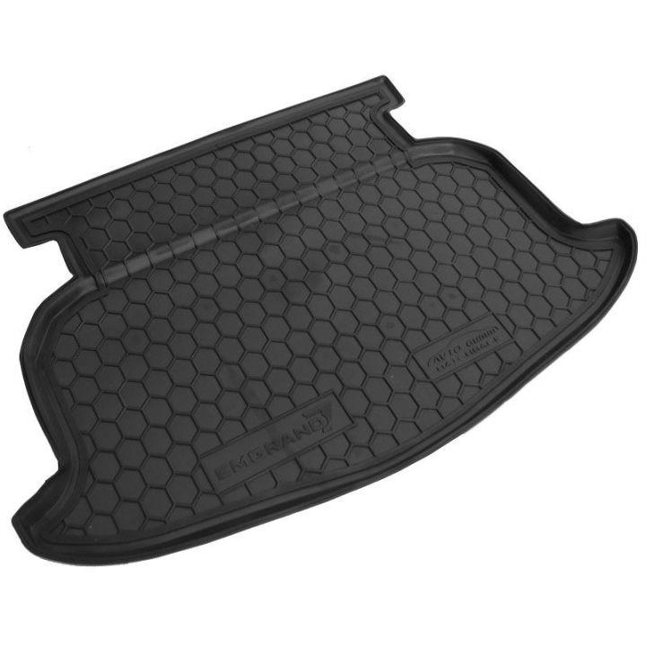 Коврик в багажник для Geely Emgrand EC-7 '11- хетчбэк, полиуретановый (AVTO-Gumm)