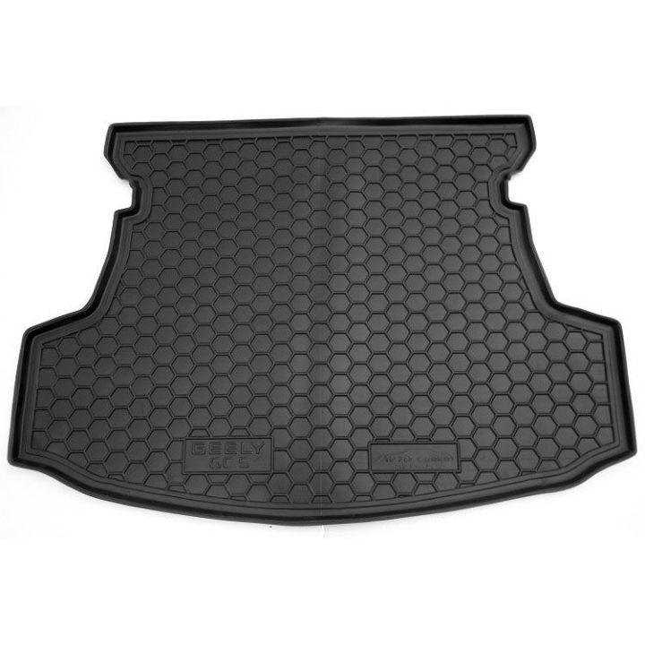 Коврик в багажник для Geely GC5 '14- седан, полиуретановый (AVTO-Gumm)
