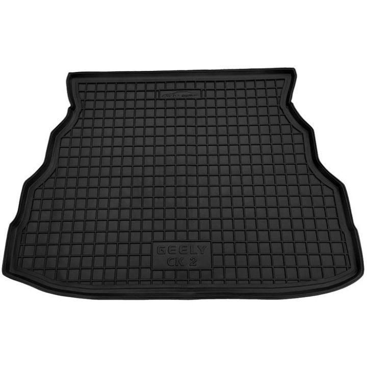 Коврик в багажник для Geely CK '06-, полиуретановый (AVTO-Gumm)