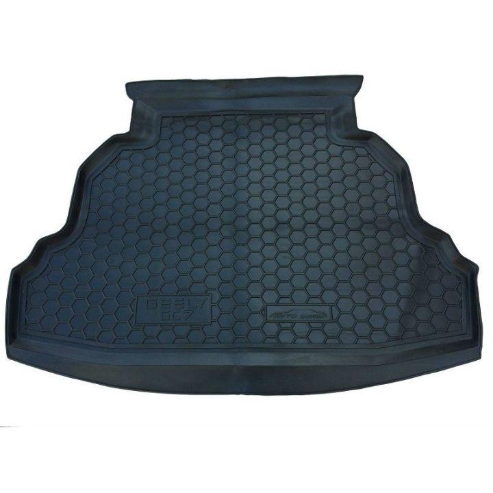 Коврик в багажник для Geely GC7 '15- седан, полиуретановый (AVTO-Gumm)