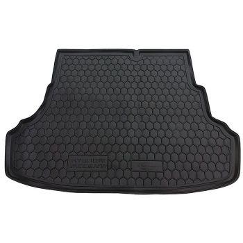 Коврик в багажник для Hyundai Accent 2011- седан, полиуретановый (AVTO-Gumm)