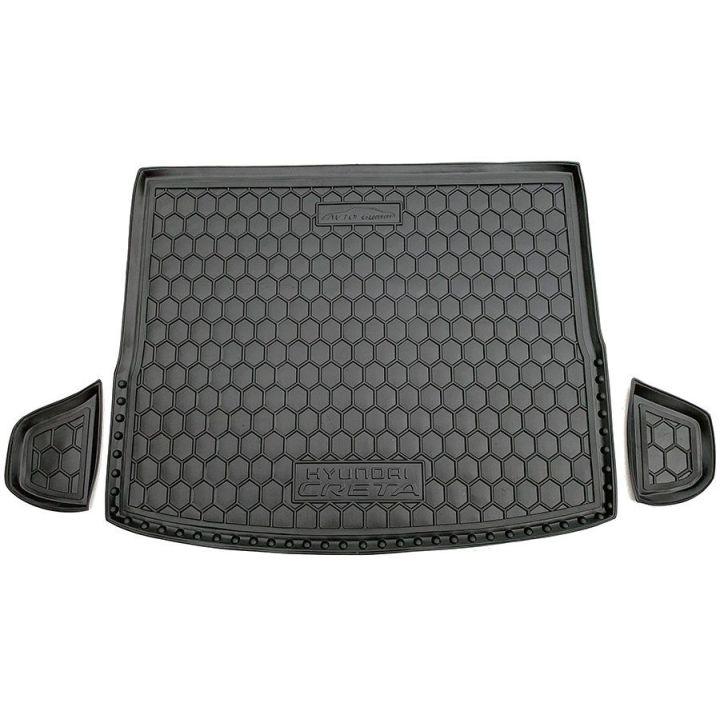 Коврик в багажник для Hyundai Creta '16-, полиуретановый (AVTO-Gumm)